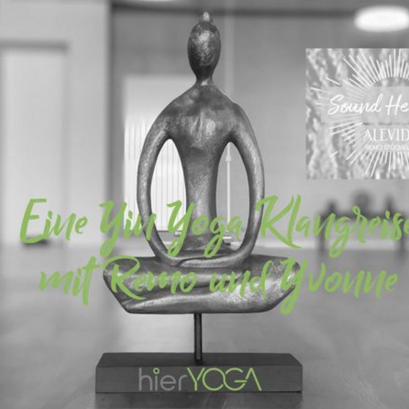Yin Yoga Klangreise mit Remo und Yvonne