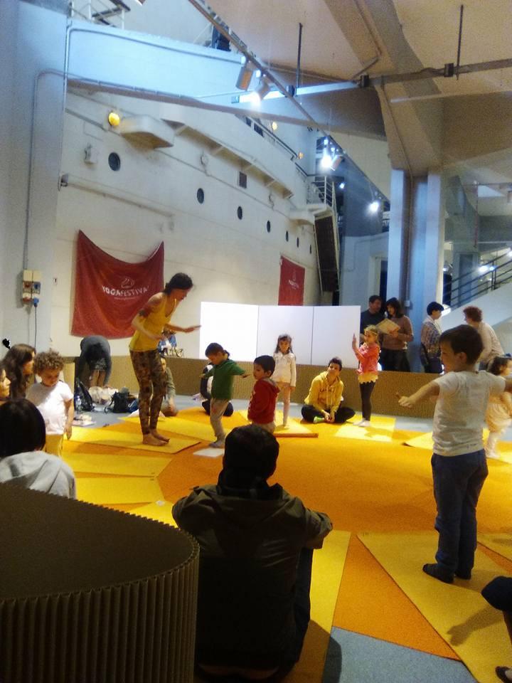 yoga festival bimbi milano