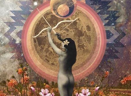 Luna Piena in Gemelli e la Freccia Arcobaleno