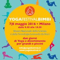 Yoga festival dei bambini