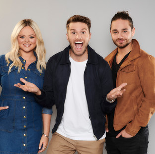 Joel Dommett returns to Extra Camp with two brand new co-hosts