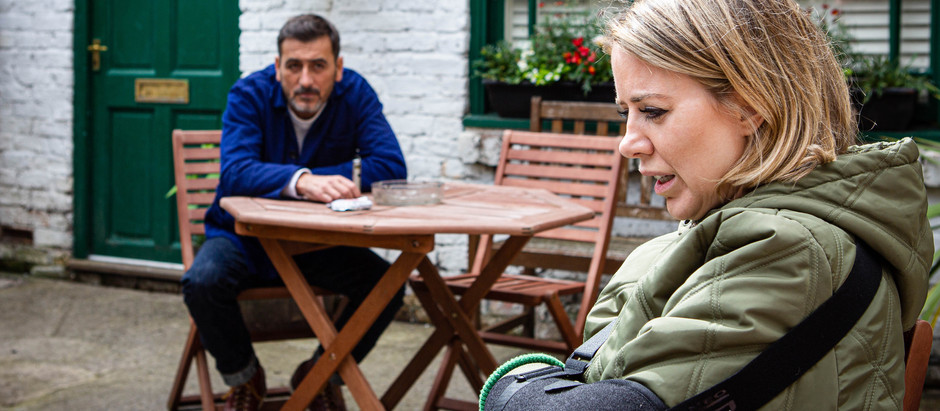 Debbie tells Kevin about Abi's 'affair' in Corrie