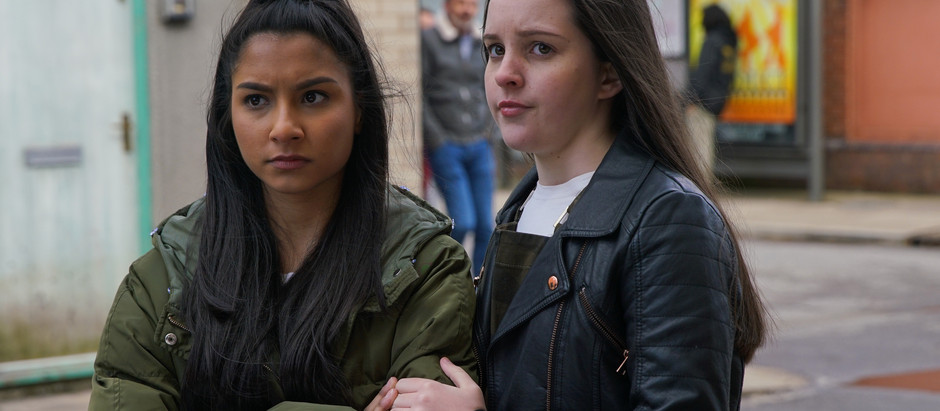 Nina comes to Asha's defence in Corrie