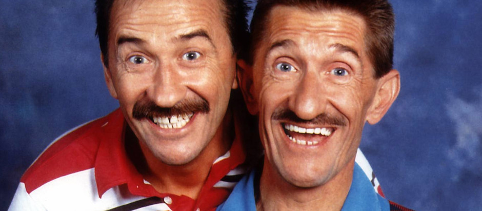 I TALK TO Paul & Barry Chuckle