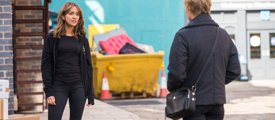 Maria goes to war with Sally in Corrie as they both run for council
