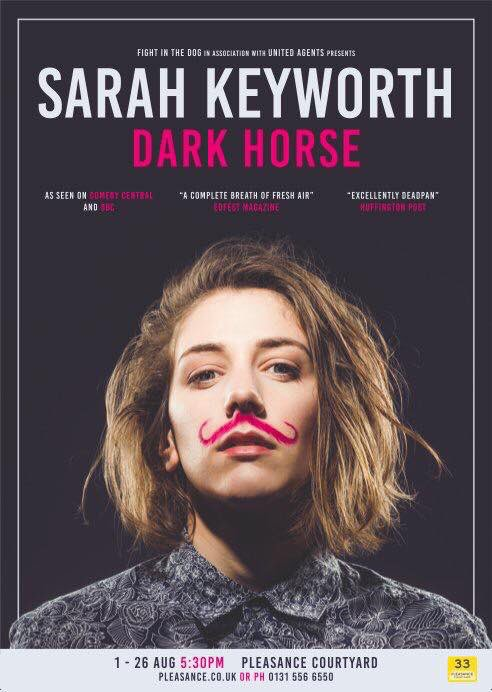 Sarah Keyworth Poster 2018