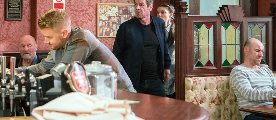 CORRIE SPOILERS Johnny finds out the truth and fights for custody of Susie