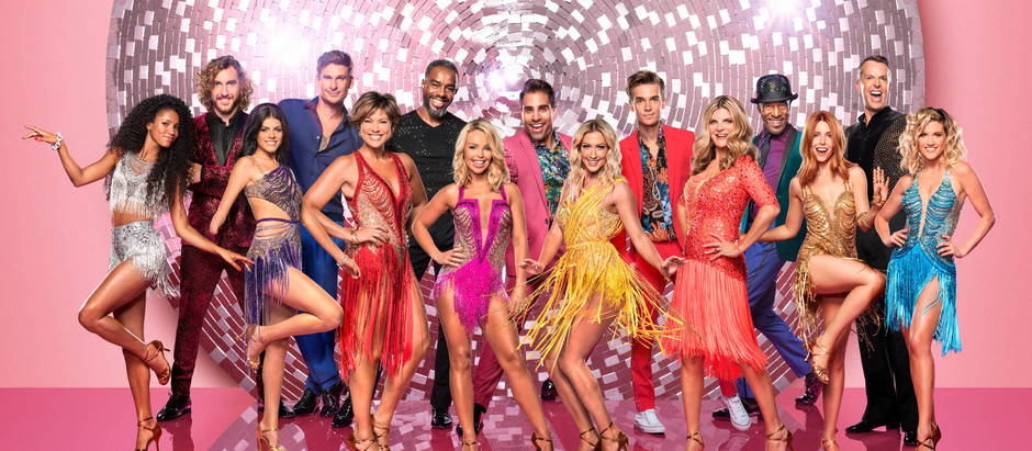 I TALK TO The 2018 Strictly Celebs