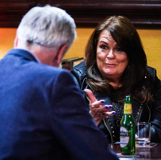 Rocky sets Whitney up with a music promoter in EastEnders