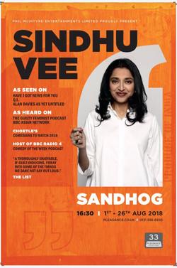 Sindhu Vee Poster 2018