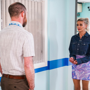 Isaac feels hurt by Lola and refuses to let her visit him in EastEnders