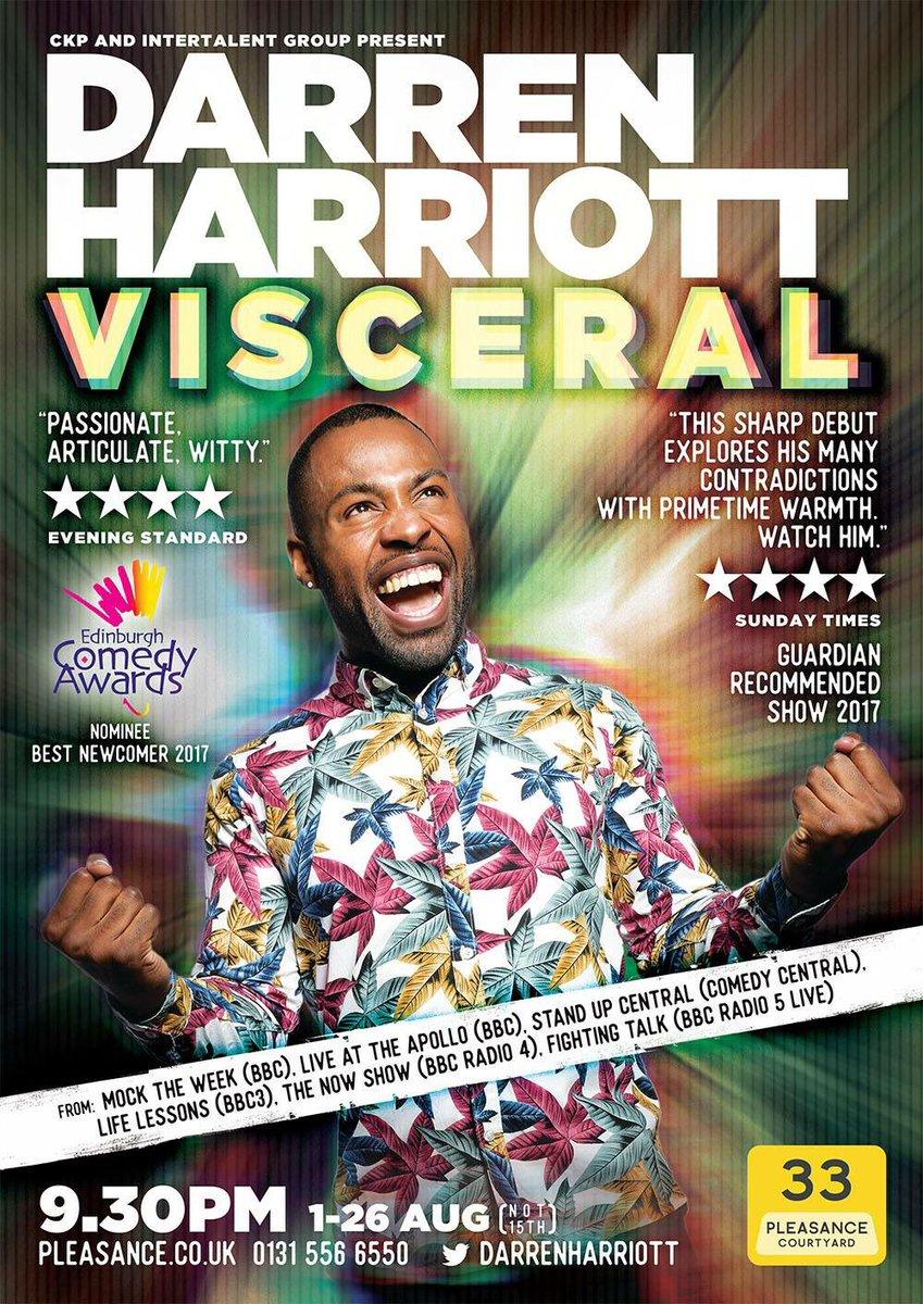 Darren Harriott Poster 2018