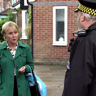 Sally's parking proposals overshadow her first wedding anniversary in Corrie