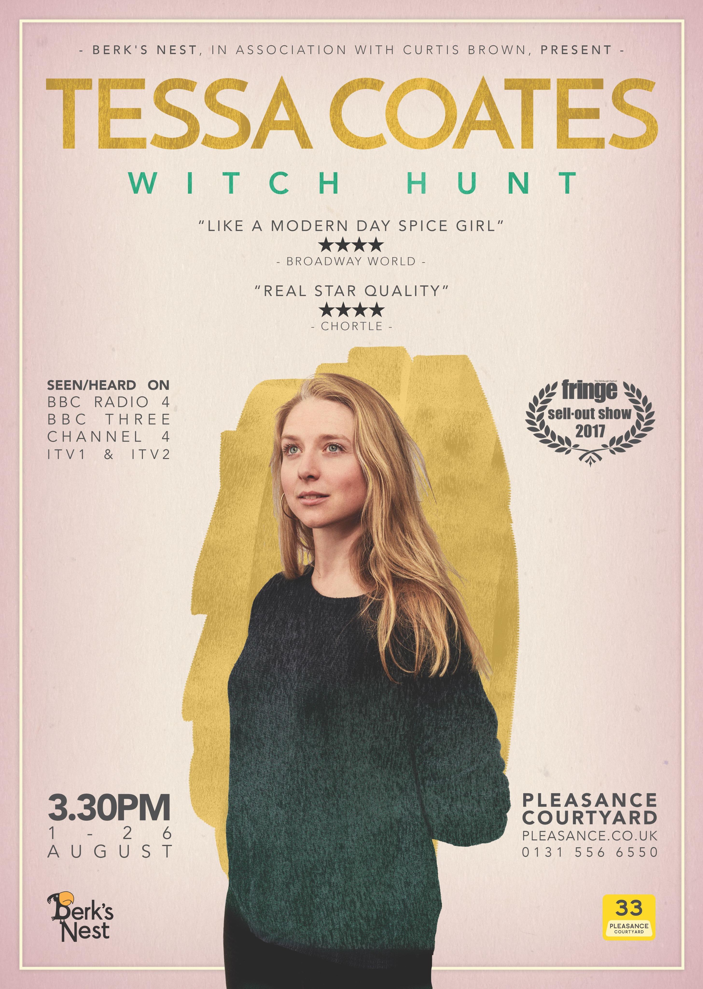 Tessa Coates Poster 2018