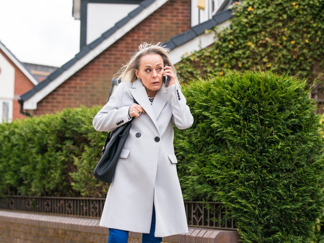 Sam is kidnapped in Corrie as Sharon starts to worry about her actions