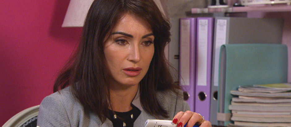 Leyla worries her marriage is over after discovering she's pregnant in Emmerdale