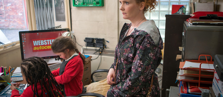 CORRIE SPOILERS Fiz is gutted when Abi & Tyrone go on a date