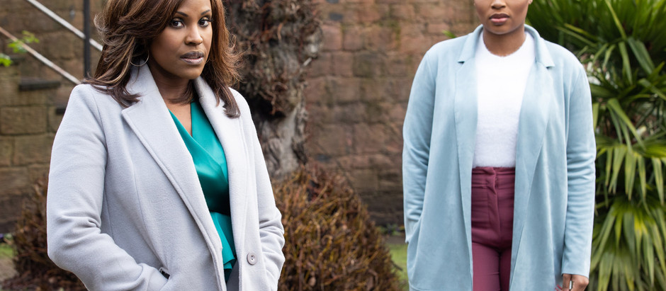 Celeste and Toby worry about losing Martine again in Hollyoaks