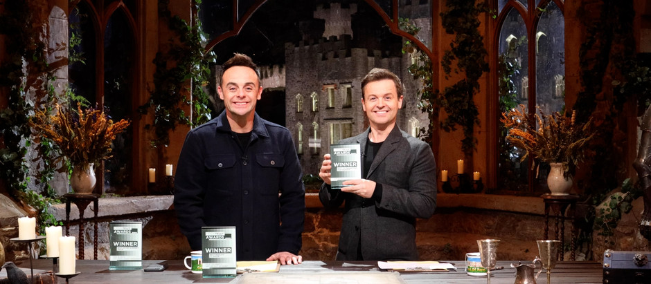 David Tennant, Ant & Dec and Coronation Street win BIG at this year's I Talk Telly Awards