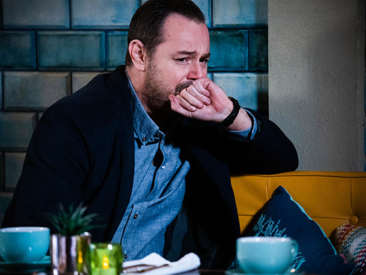 Mick worries about giving evidence in EastEnders