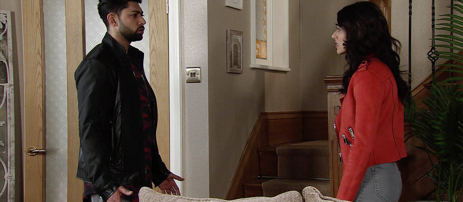 CORRIE SPOILERS Zeedan says goodbye to Speed Dhal as his guilt sets in