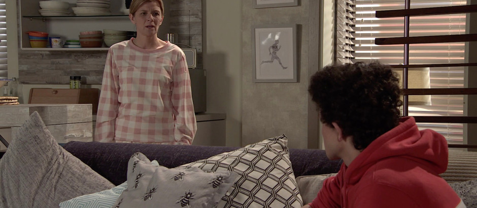 Simon keeps Leanne's secret in Corrie as Nick puts him on the spot