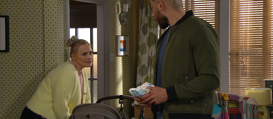 Tracy and Frankie return to Emmerdale