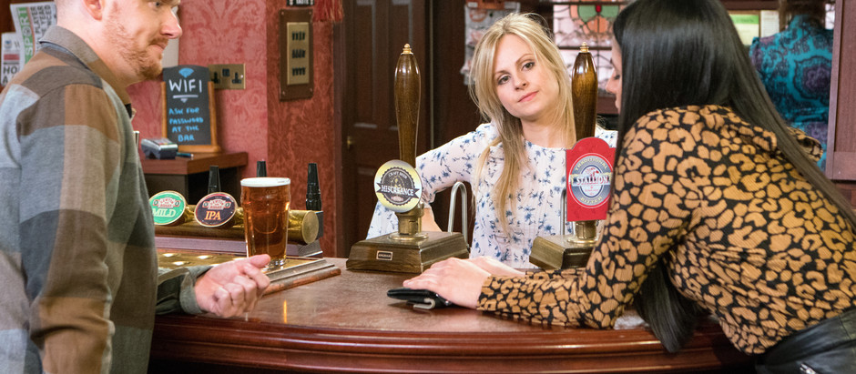 CORRIE SPOILERS Sarah applies to become Alya's PA