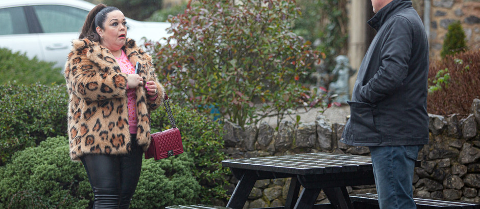 Mandy wants to marry Paul sooner rather than later in Emmerdale
