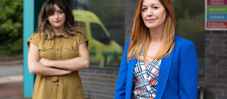 Becky and Diane clash over vaccinations in Hollyoaks