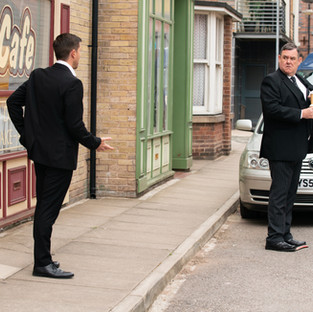 George comes to Todd's rescue as he continues to make enemies in Corrie