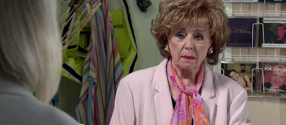 Rita gets a blast from her past in Corrie as Sharon returns