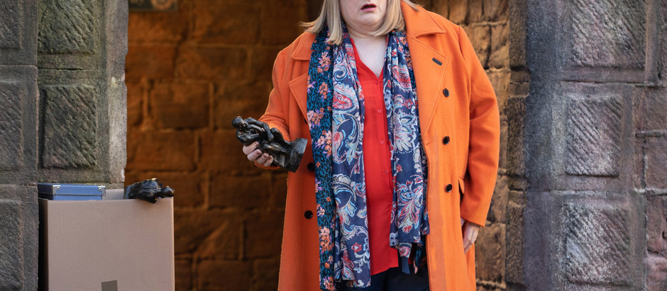 Sally plans to re-enact PC Kiss' murder in Hollyoaks