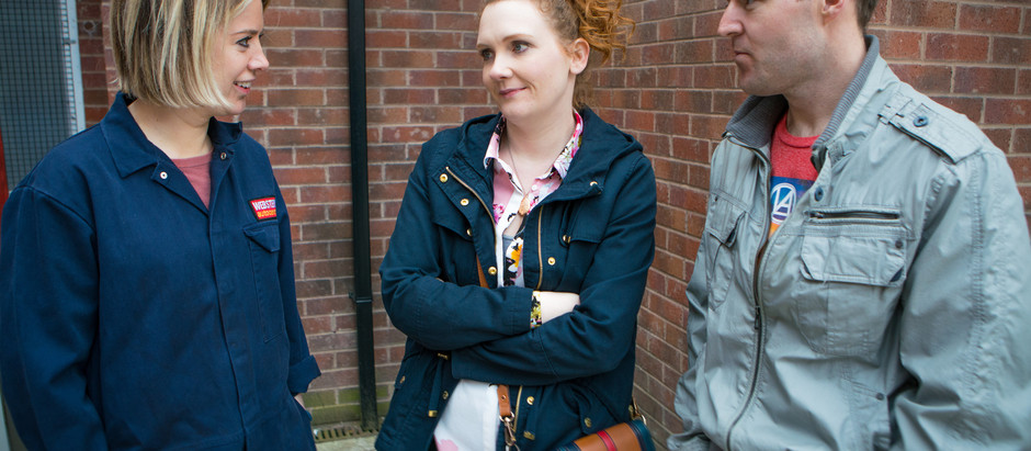CORRIE SPOILERS Abi makes an impression on Tyrone