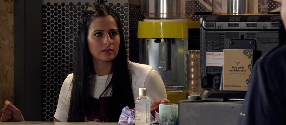 Alya reaches breaking point in Corrie