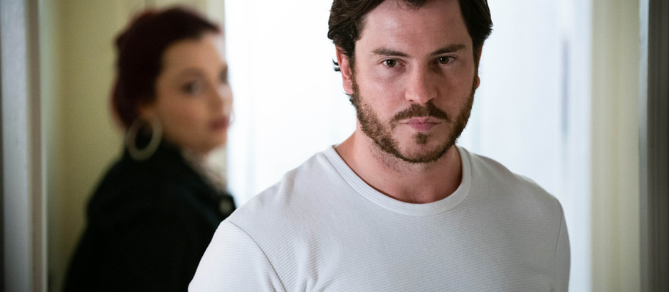 Gray convinces Whitney to give him a second chance in EastEnders
