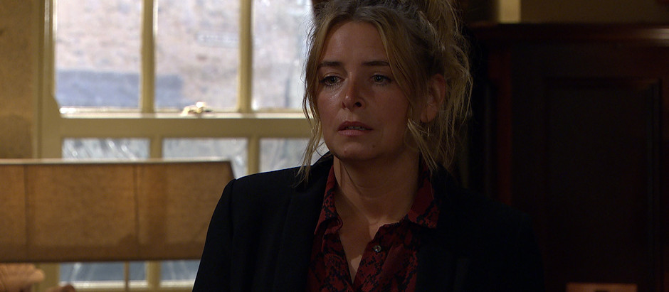 Charity is devastated in Emmerdale after news reaches her of Vanessa