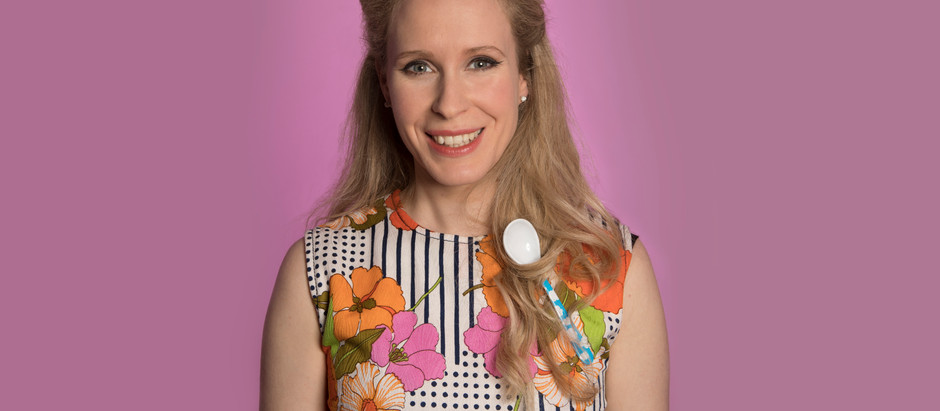ED FRINGE REVIEW Lucy Beaumont, Space Mam