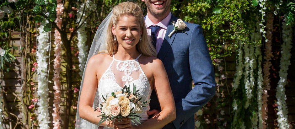HOLLYOAKS SPOILERS The day of Damon and Holly's Wedding Arrives