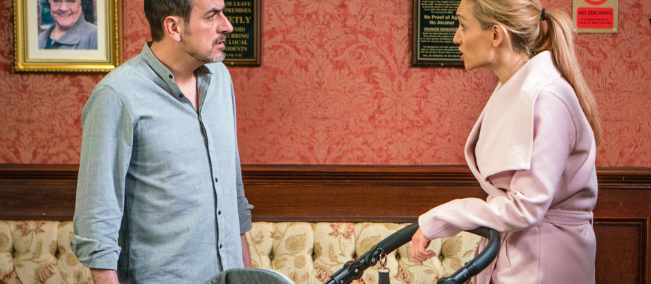 CORRIE SPOILERS Toyah comes clean to Peter about the baby