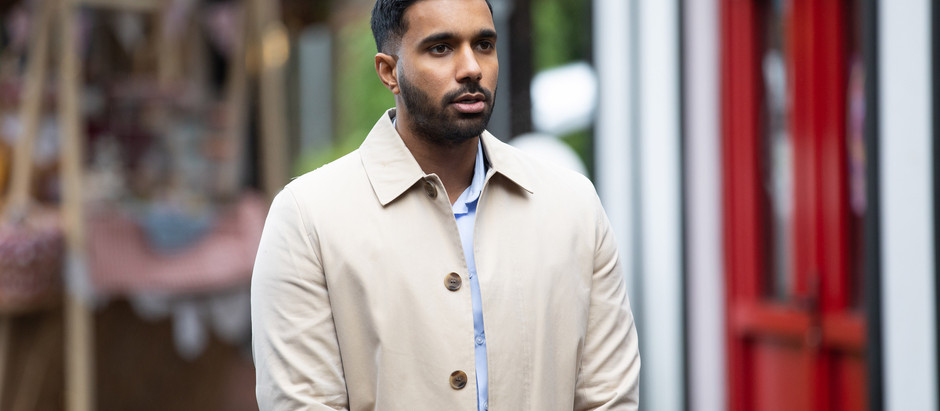 Sami is certain that Misbah is hiding something from him in Hollyoaks