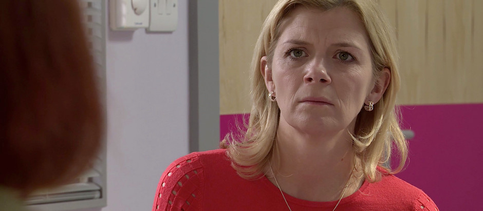 Steve and Leanne are asked to think about switching Oliver's life support off in Corrie