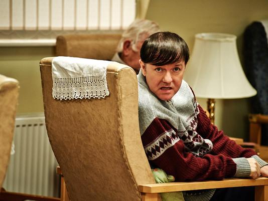 I TALK TO Ricky Gervais