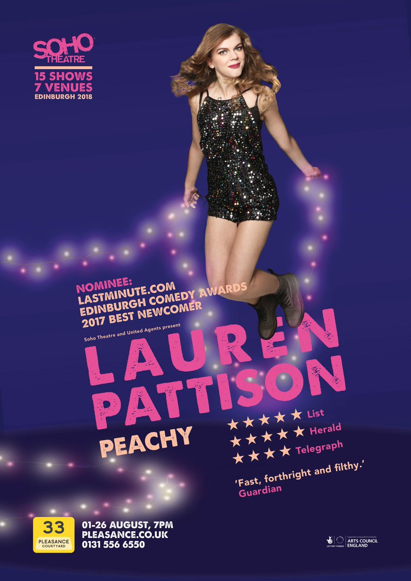 Lauren Pattison Poster 2018