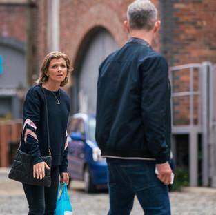 Leanne accuses Nick of being overprotective of Sam in Corrie