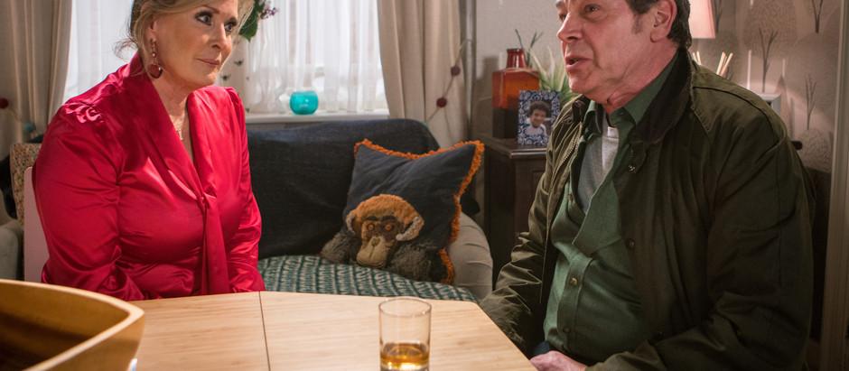 CORRIE SPOILERS Johnny shuts himself away following Aidan's death