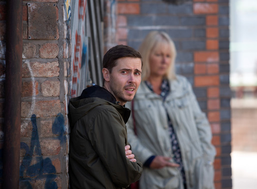 Todd brings trouble with him as he returns to the Corrie cobbles