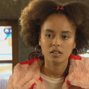 Brooke opens up to Imran in Hollyoaks