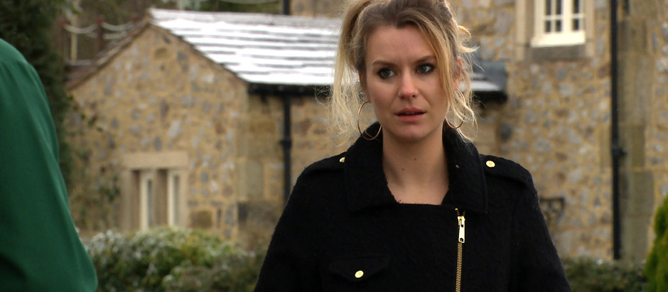 Dawn tells Jamie 'it's over' after finding out about Gabby's pregnancy in Emmerdale