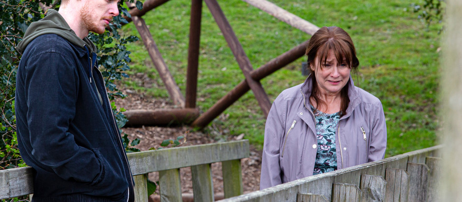 Wendy confronts Luke in Emmerdale over his lies
